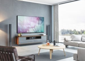 Got TV area? Time to make it look sophisticated