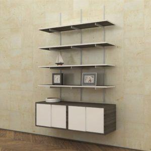 Install an Artistic wall shelf